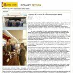 Clausura-IIcursoTelecomunicacionMilitar-IntranetDefensa