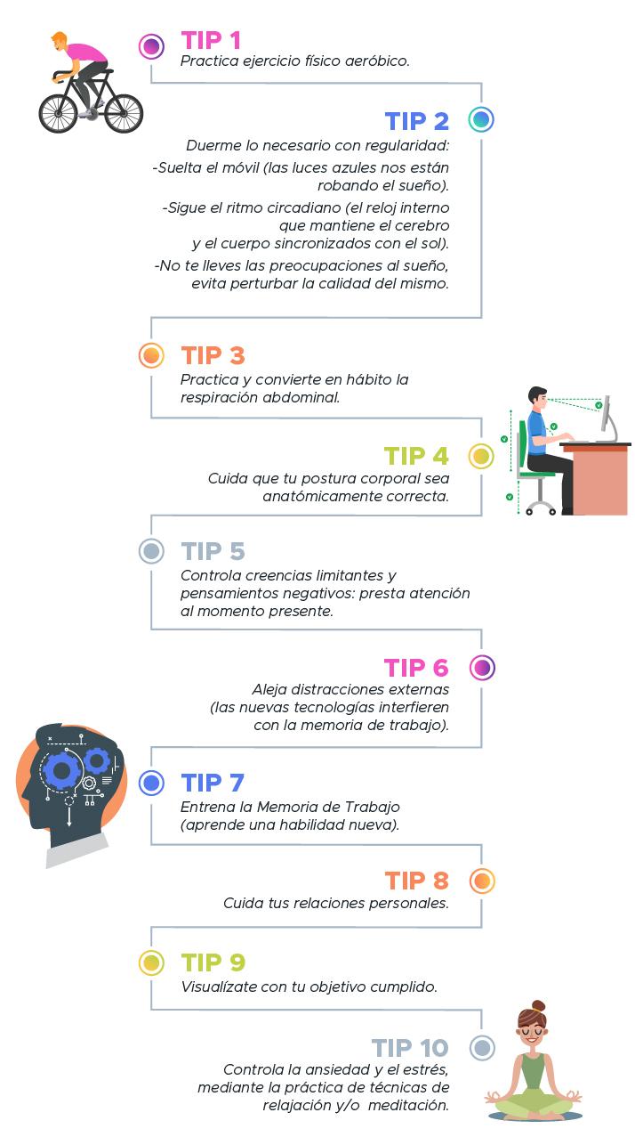 Tips optimizar aprendizaje